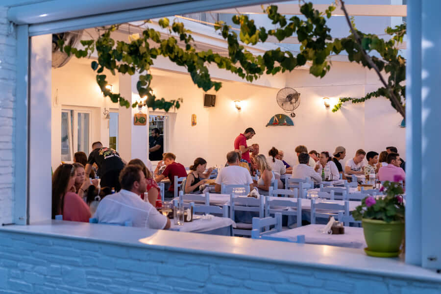 The Restaurant of Pavlos Place